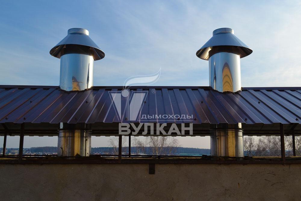 Дымоходы вулкан брянск дымоход для буржуйки купить в красноярске